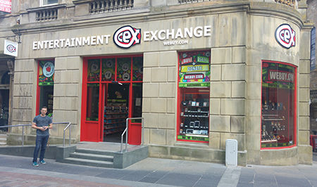 cex paisley opening hours address phone. Black Bedroom Furniture Sets. Home Design Ideas
